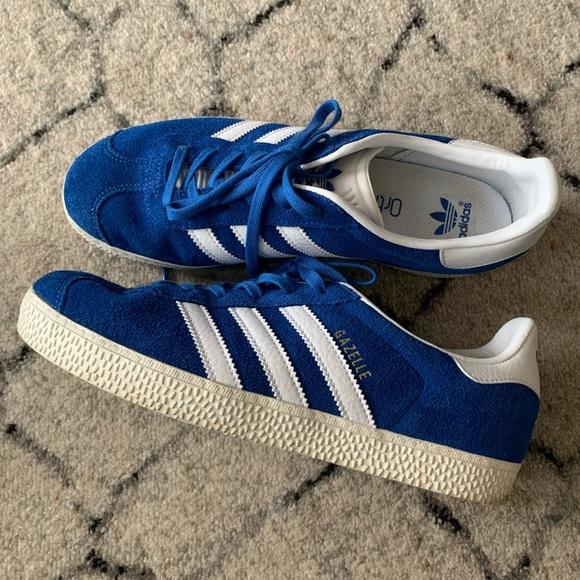 Adidas Originals Gazelle Blue Suede sz 6
